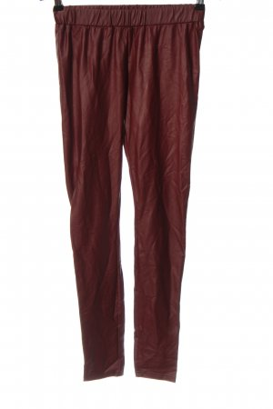 Review Jeggings red casual look