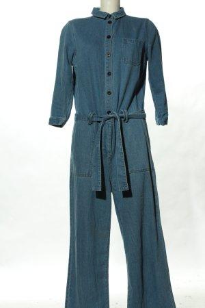 Review Jumpsuit blau Casual-Look