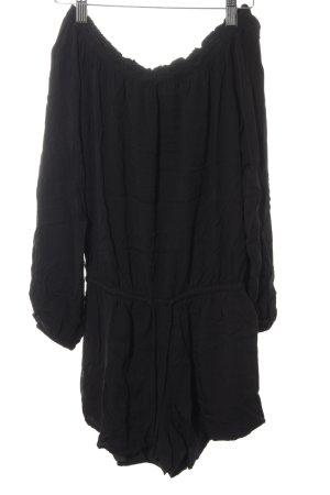Review Jumpsuit schwarz Street-Fashion-Look