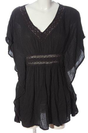 Review Kimono blouse zwart elegant