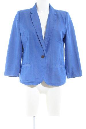 Review Kurz-Blazer blau Casual-Look