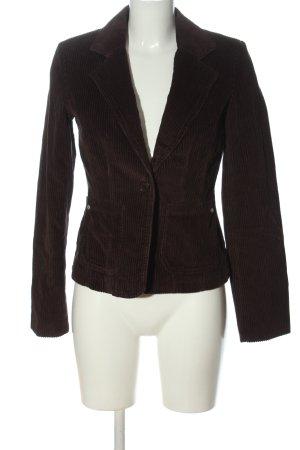 Review Korte blazer bruin casual uitstraling