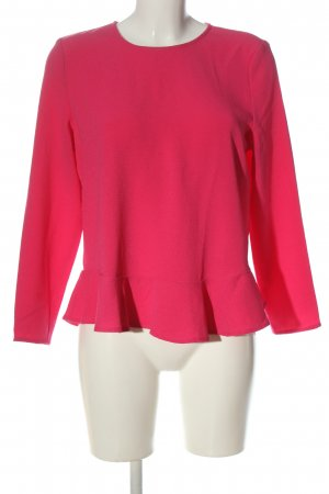 Review Langarm-Bluse pink Casual-Look