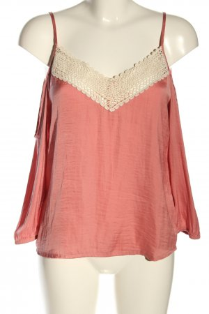 Review Langarm-Bluse pink-creme Casual-Look