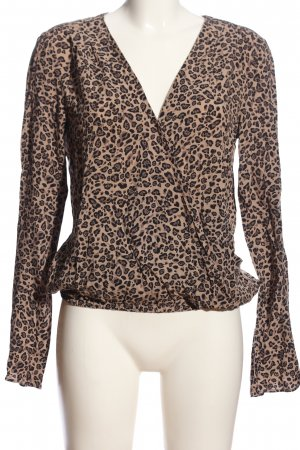 Review Schlupf-Bluse Leomuster Casual-Look