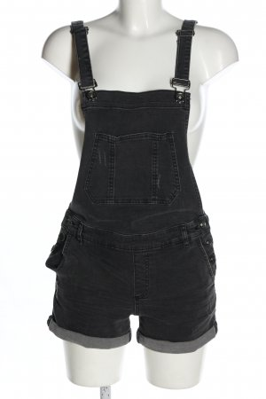Review Dungarees black casual look