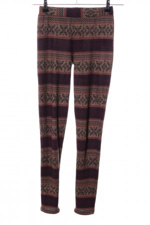 Review Leggings grafisches Muster Casual-Look