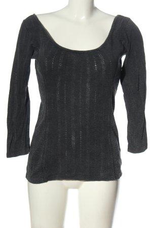 Review Koszulka z długim rękawem jasnoszary W stylu casual