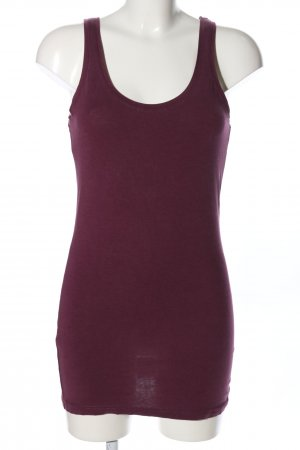 Review Top largo rosa look casual