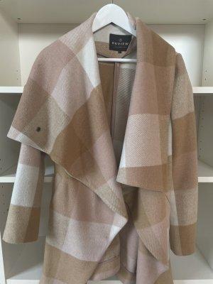 Review Cappotto in lana multicolore