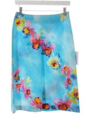 Review Midirock florales Muster Casual-Look