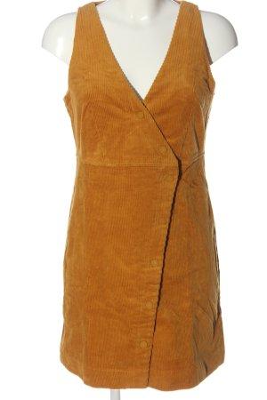Review Robe courte orange clair style décontracté