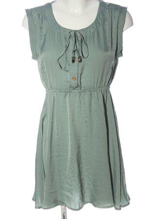 Review Mini vestido verde elegante