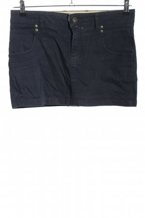 Review Miniskirt blue casual look