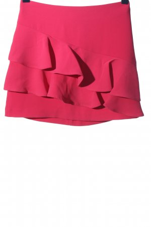 Review Miniskirt pink casual look