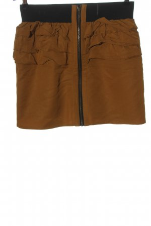 Review Miniskirt bronze-colored casual look