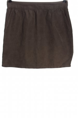 Review Miniskirt brown casual look