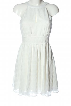 Review Halter Dress white casual look