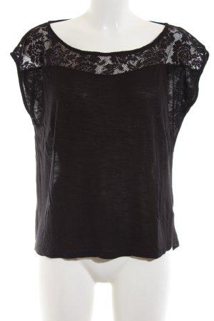 Review Oversized Shirt schwarz Business-Look