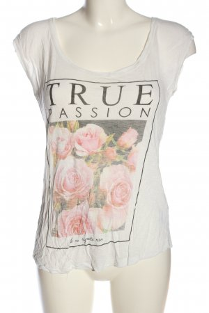 Review Print-Shirt Motivdruck Casual-Look