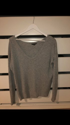 Review Oversized Sweater silver-colored