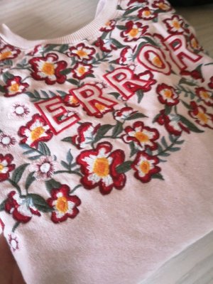 Review Pullover Floral Blume. ERROR rosa rose