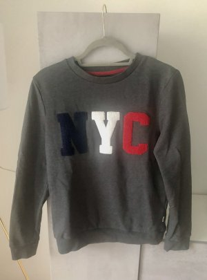 REVIEW Pullover S grau