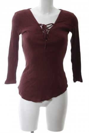 Review Geribd shirt rood casual uitstraling