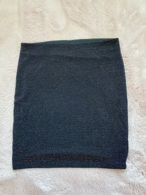 Review Miniskirt black-silver-colored