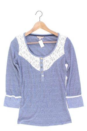 Review Shirt blau Größe L