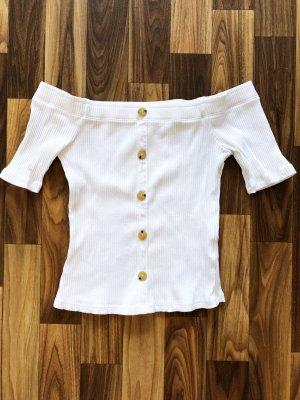 Review Camicia cropped bianco Cotone