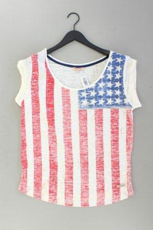 Review Shirt Größe L weiß aus Polyester