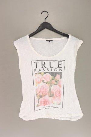 Review Shirt Größe M mit Blumenmuster weiß