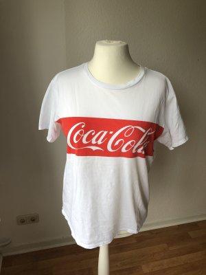 Review Shirt mit Coca Cola Print