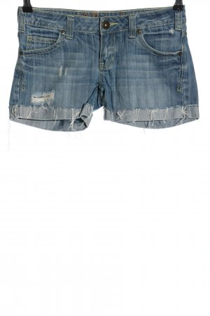 Review Shorts blau Casual-Look