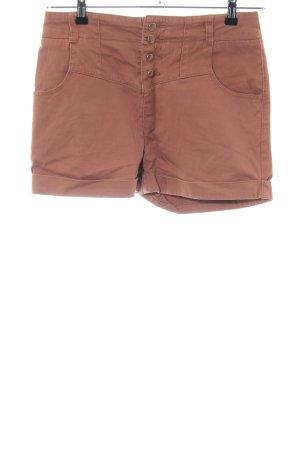Review Shorts braun Casual-Look
