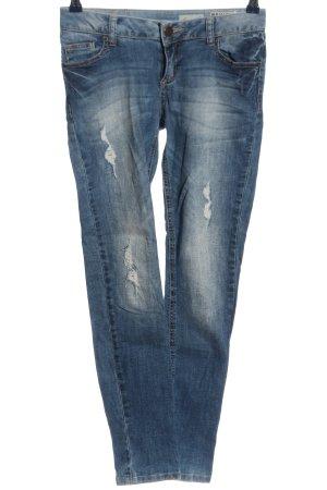 Review Slim Jeans blau Casual-Look