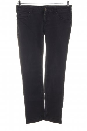 Review Slim Jeans schwarz Casual-Look