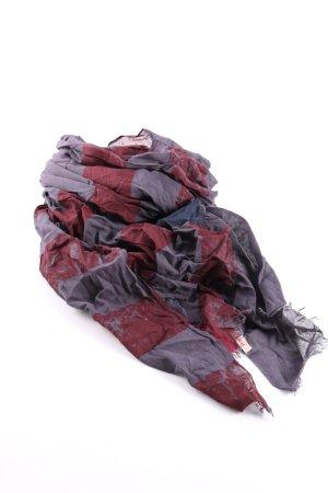 Review Chal veraniego rojo-gris claro estampado a rayas look casual