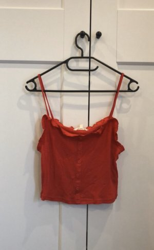 Review Cropped top rood