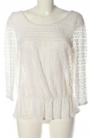 Review Lace Blouse white casual look