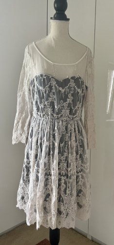 Review Lace Dress white-natural white