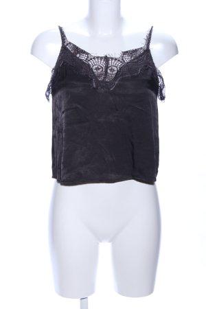 Review Lace Top black elegant