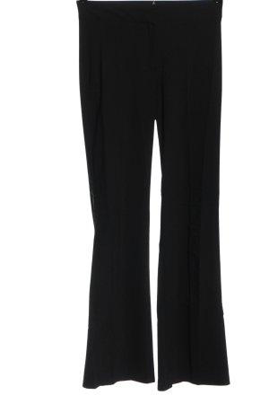 Review Pantalón tipo suéter negro look casual