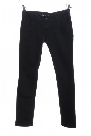 Review Straight-Leg Jeans schwarz Casual-Look