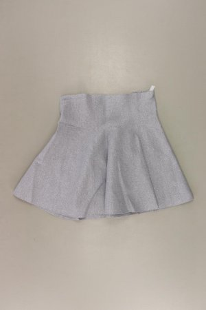 Review Stretchrock Größe M mit Glitzer silber aus Baumwolle