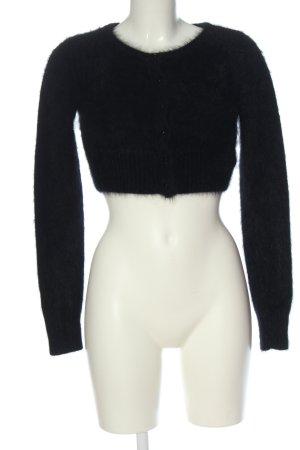 Review Boléro en tricot noir style décontracté