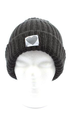 Review Chapeau en tricot gris clair imprimé avec thème style décontracté