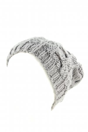Review Knitted Hat light grey cable stitch casual look