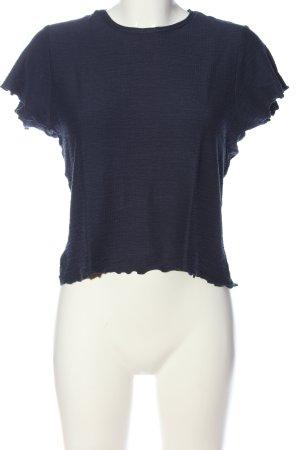 Review Camicia maglia blu stile casual
